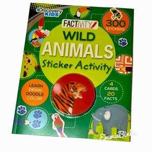 New, Discovery Kids, Wild Animals Activity Book